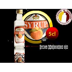 SYRUP MELOCOTON SIN