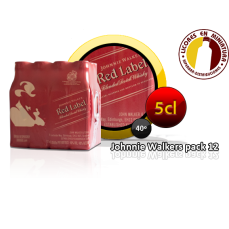 JOHNNIE WALKER E/R PACK 12