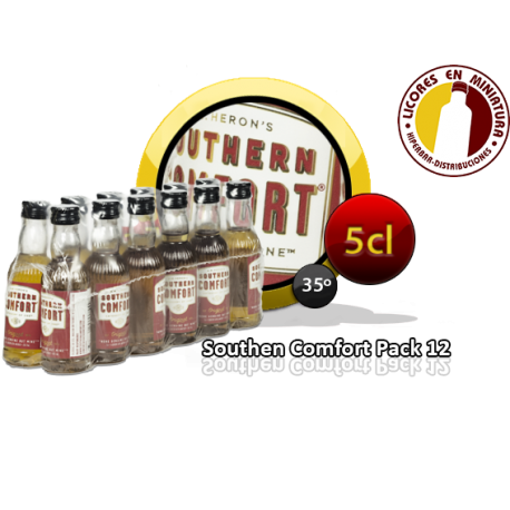 SOUTHERN CONFORT PACK 12 UNIDADES