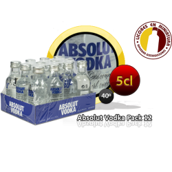 ABSOLUT PACK 12 UNIDADES
