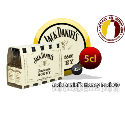 J.DANIEL´S HONEY PACK 10 UNIDADES