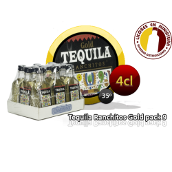 TEQUILA RANCHITOS GOLD PACK 12 UNIDADES