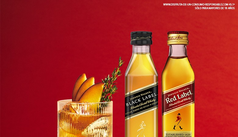 Johnnie Walker Black label Red Label
