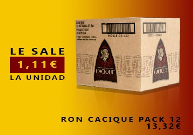 Ron Cacique Pack 12