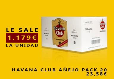 Havana Club Añejo Pack 20