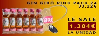Gin Giró Pink Pack 24